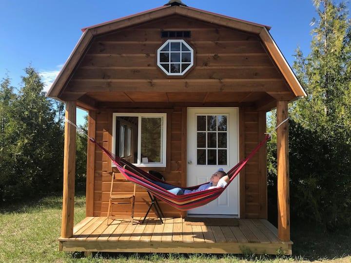 Cabin #1 on a century old family farm