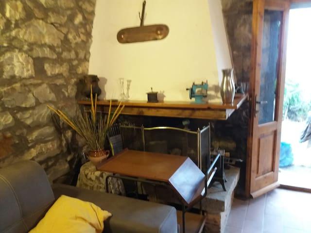 Toscana monolocale con giardino