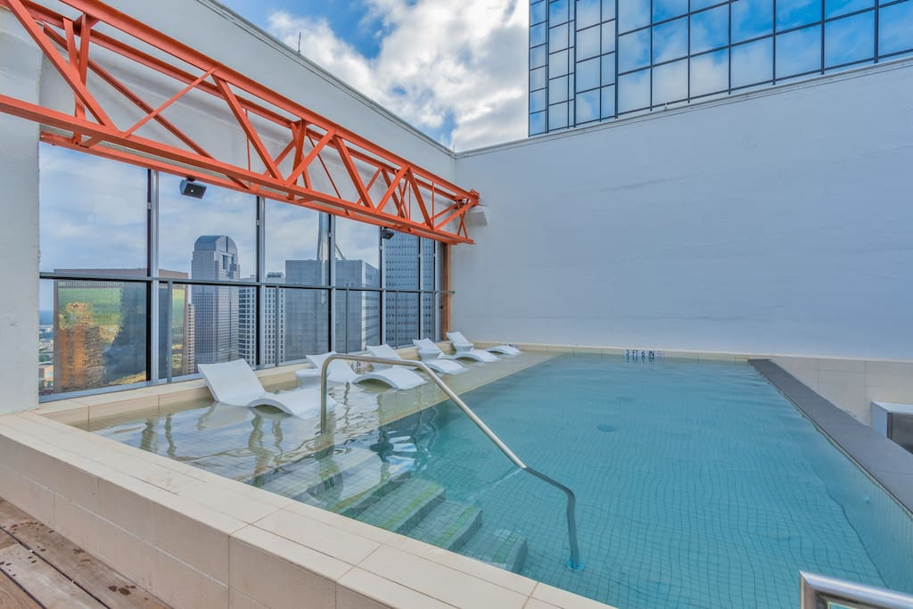 Pool at The LTV Tower by Stay Alfred