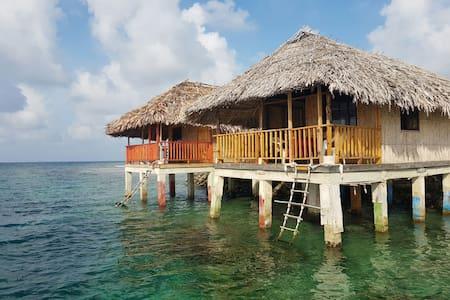 Cabañas Naranjo Chico (Mar) - Panama Guna Yala - Srub