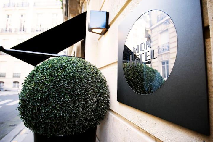 Chambre Cosy pour une escapade Chic et Romantique - Paris - Boutique-Hotel