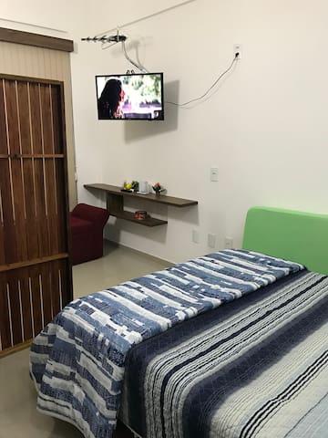 Cama e TV