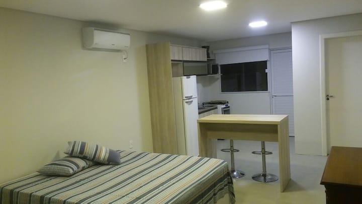 """loft na praia do santinho """"loft 1"""""""