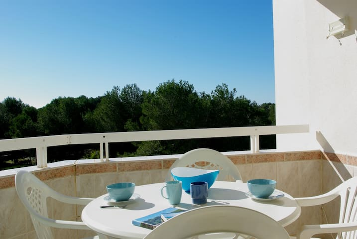 Apt. in Mallorca South.WiFi,terrace,garden & pool. - Llucmajor - Apartemen