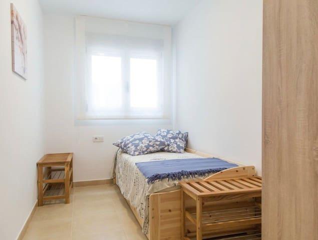 Habitación 2: dos camas individuales