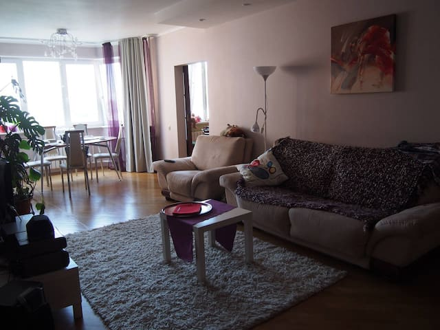 lux flat 120 m2, 2 bedrooms, south of moscow