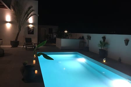 Stylish villa with pool and mount Tavor