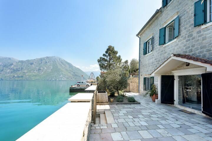 Mediterranean luxury Villa with private beach