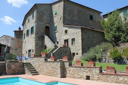 Nightingale, Tuscany Family Villa - La Strada-santa Cristina