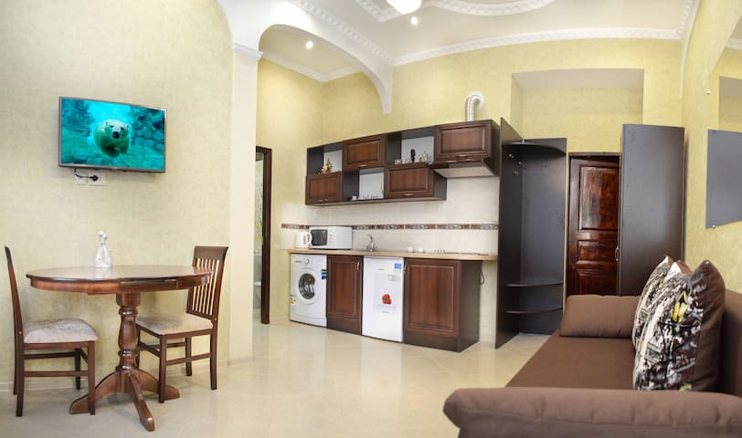 Apartment near the Dnepr river, CENTER.