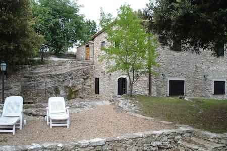 Casale nel verde e nella roccia - Маньяно - Вилла