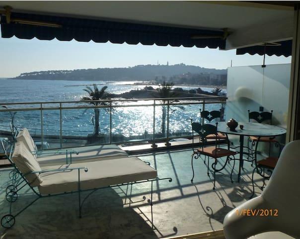 studio vue sur mer - Antibes - Apartment
