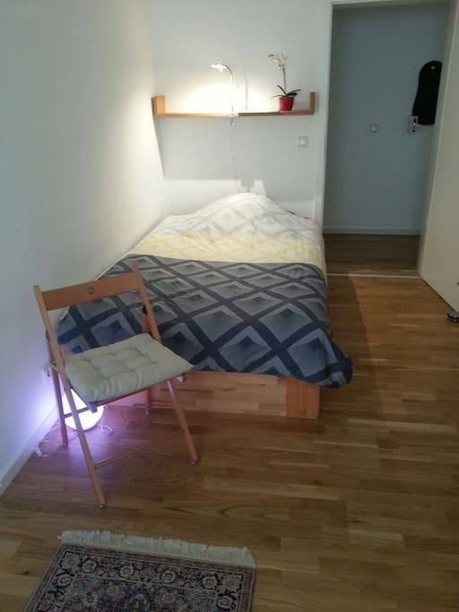 Bed 1,20 meter wide