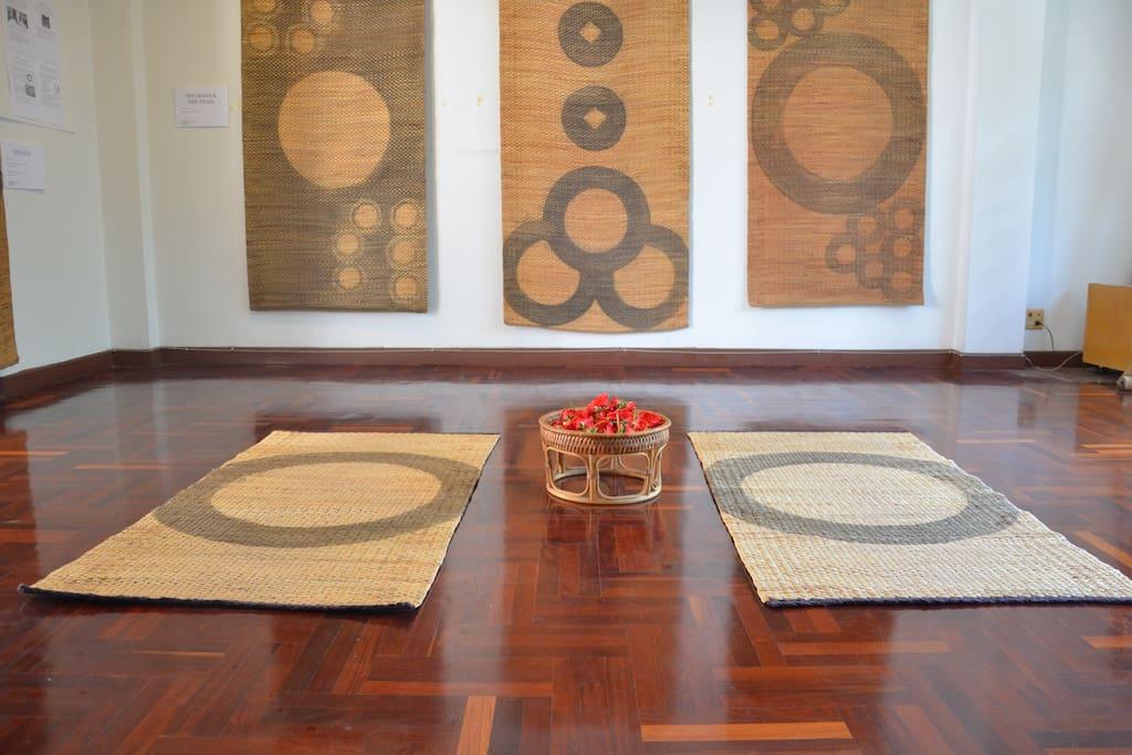 2nd Floor: Yoga, Meditation space