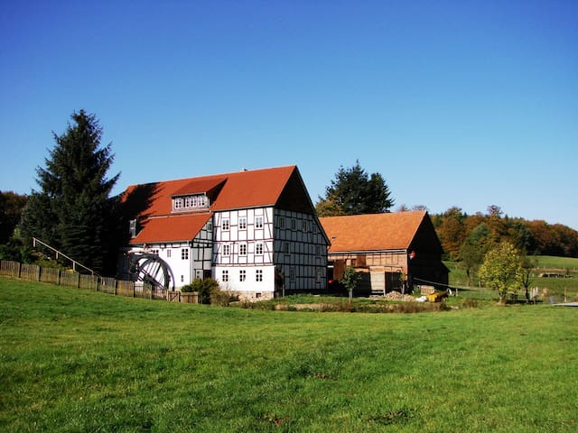 Historic romantic Mill - Waldeck - Hus