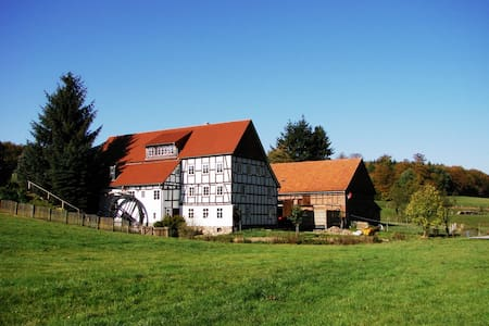 Historic romantic Mill - Waldeck - Huis
