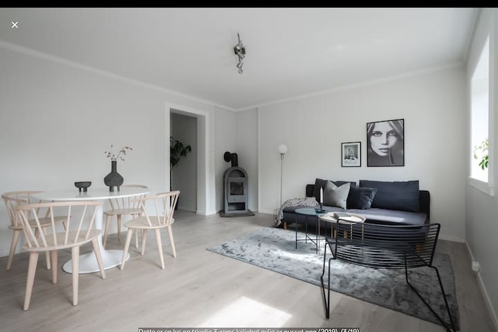 Quiet and cozy apartment in Bergen, with parking!