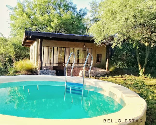 Casita Ecosustentable. Bello Estar. Traslasierra