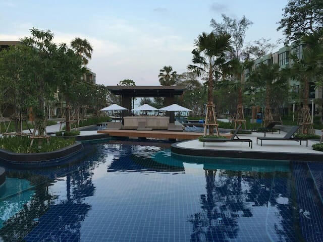 Beachfront Seaview Cha Am - Phetchaburi - Appartement