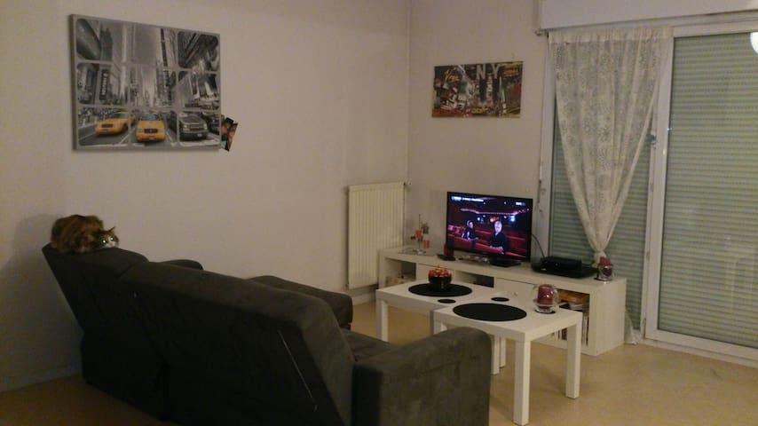 Chambre/Appartement près du Zenith - Saint-Herblain - Daire