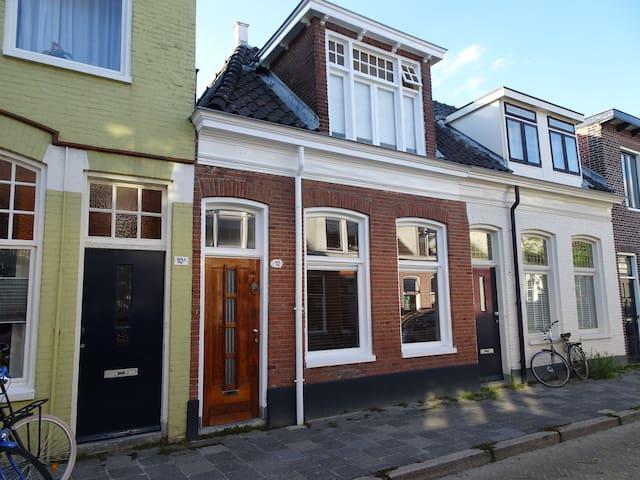 Sfeervol schippershuisje  in de Oosterpoort
