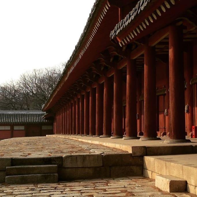 Photo of Jongmyo Shrine