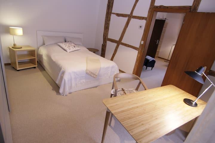 cosy quiet 2room flat near Basel