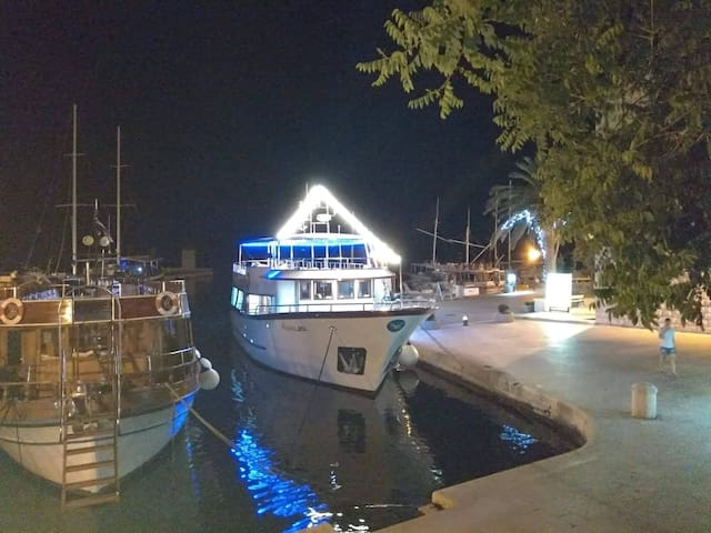 Our excursion boats Frane and Frane-Bol