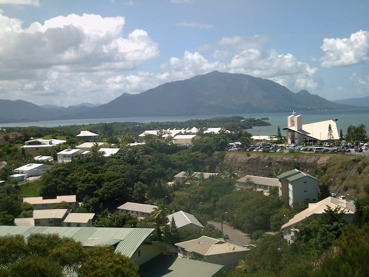 Apt  t4 terrasse cœur  Nouméa belle vue