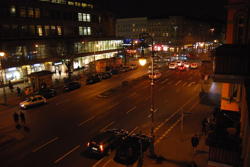 Blick auf den Hermannplatz