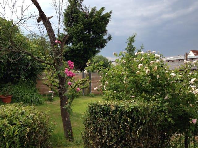 Ferienwohnung in idyllischem Garten - Keltern-Ellmendingen - Apartment