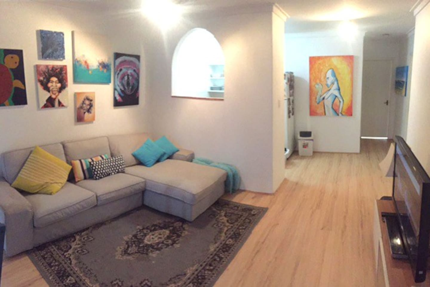 Spacious and funky design
