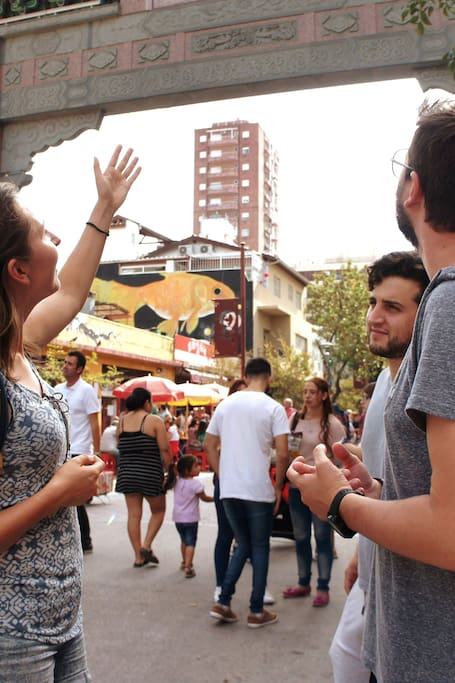 Exploring Barrio Chino