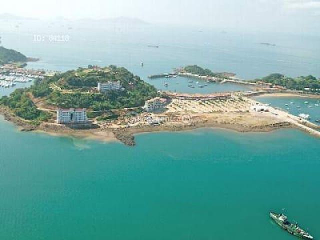 Isla Perico, hermosa Vista a la ciudad 2 cuartos