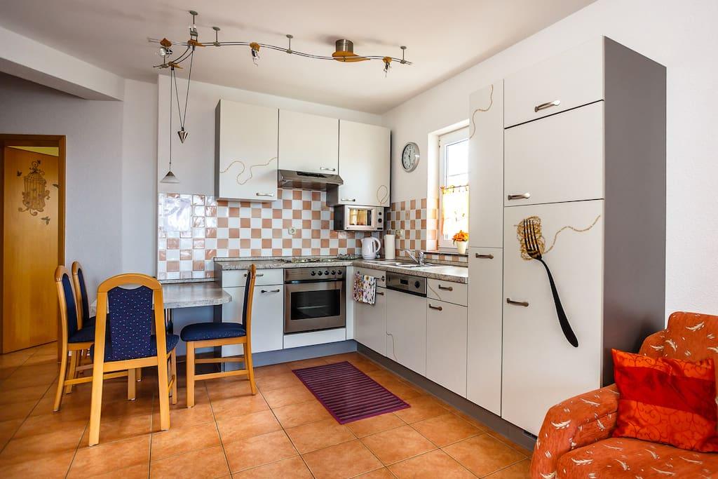 Die Küche in Stella 1.