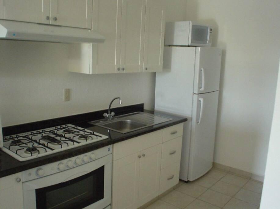 Cocina integral y electrodomésticos