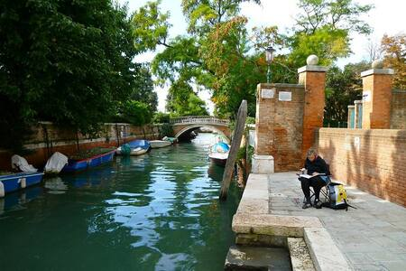 EASY&VENICE 21 STEPS FROM BIENNALE! - Venise