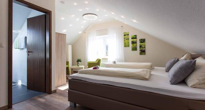 Doppelzimmer mit Frühstück im Weingut Paulushof