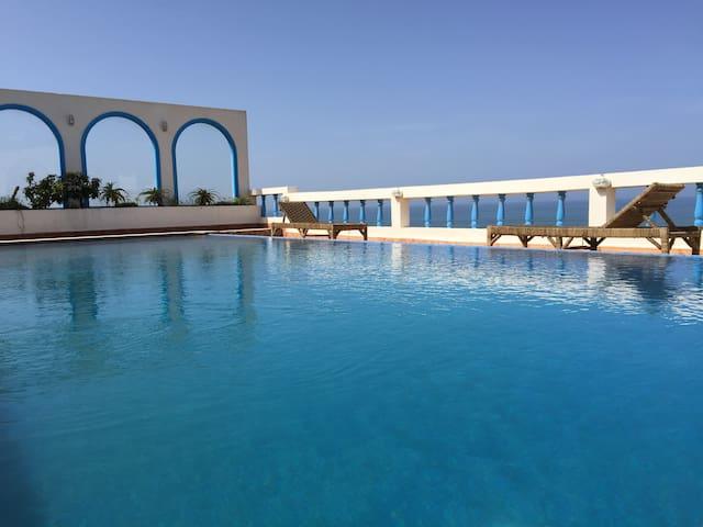 Villa de rêve avec piscine chauffée - Mirleft - Bed & Breakfast