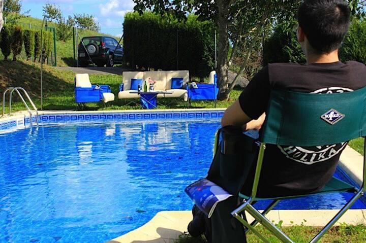 Apartamento nº 9, con piscina