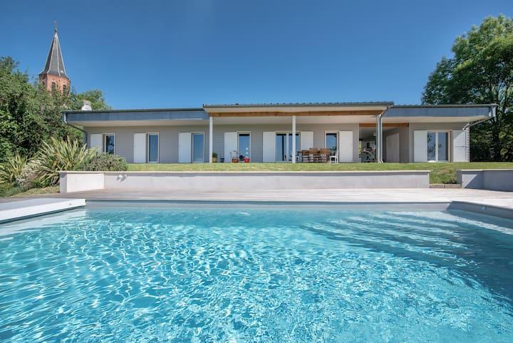 La Parenthèse, Villa avec piscine