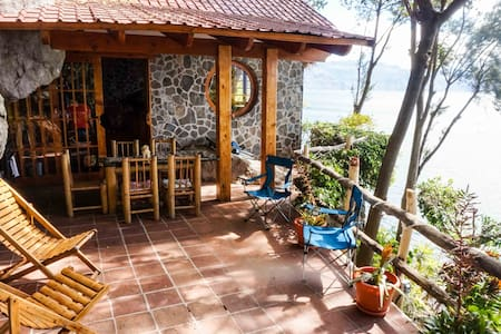 Casa en la Piedra (main house) - Jaibalito
