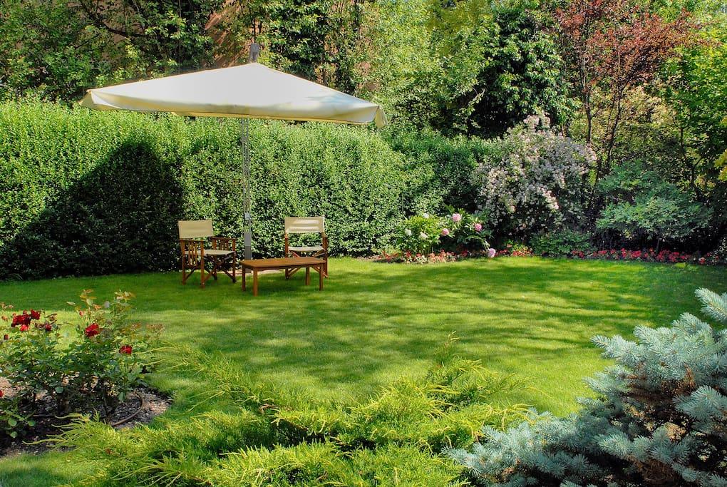 Per i tuoi momenti di relax in giardino.