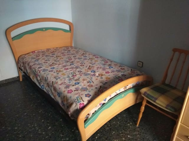 Habitación acogedora en Albacete
