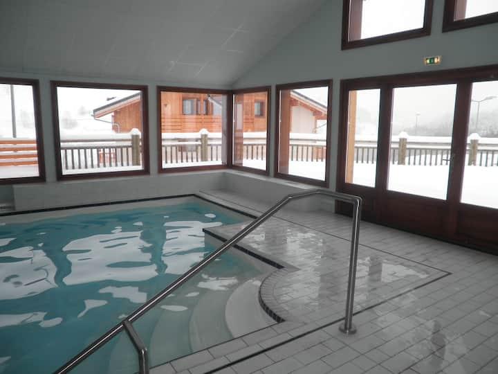 3 * apartment, close  Megève, in front ski lifts
