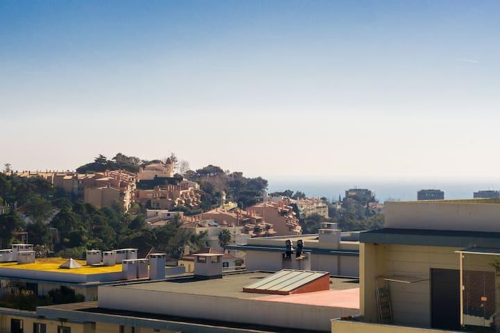 Appart 10 min de la plage centre appartements louer for Appart hotel centre de porto portugal