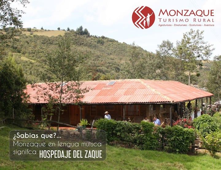 Monzaque-Paraíso de Bachué, Chíquiza; pure nature