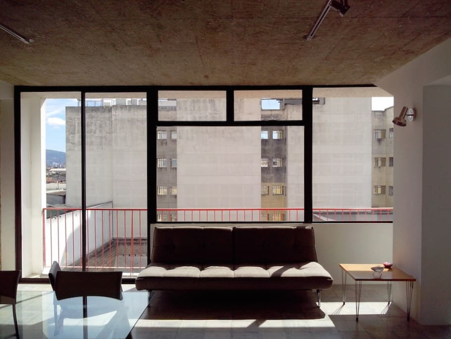 Urban, contemporary style in downtown Guatemala City.