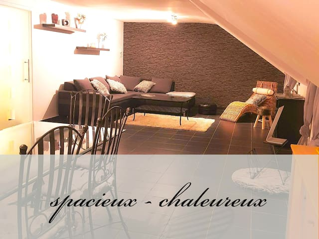 Appartement entre Malmedy et Bütgenbach'''
