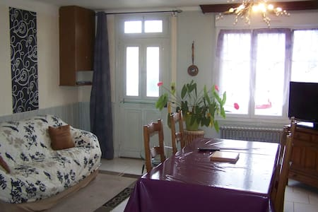 Appart.5 pers. 4 km du Haras du Pin - Le Bourg-Saint-Léonard - Appartement